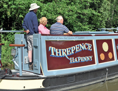 Fuelling a Winner - Threpence Ha'penny